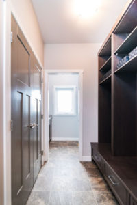 planning a mudroom for an RTM