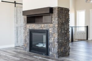 RTM gas fireplace