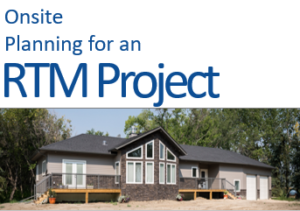 Onsite Planning for an RTM Project Guide