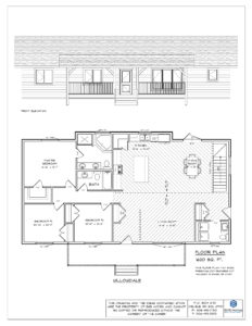 The Willowdale Floor Plan